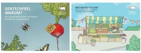 Neue Broschüren zum Thema Konsum und Gentech