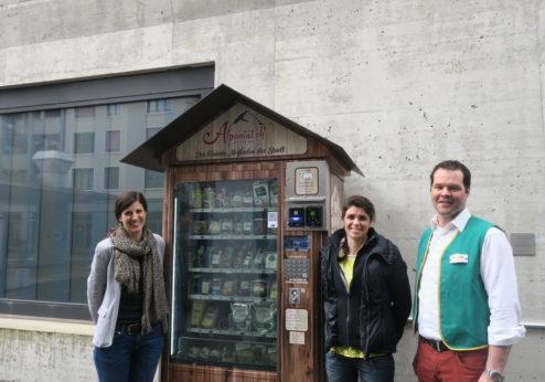 «Alpomat» – kleinster Hofladen der Stadt gut gestartet