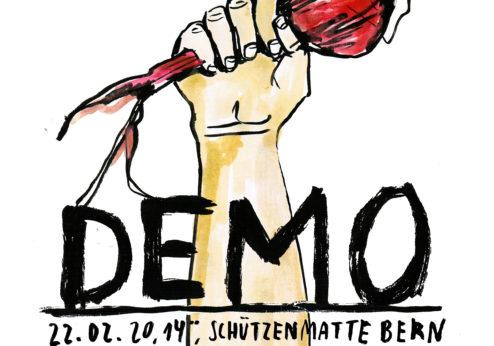 Nationale Demo «Essen ist politisch» am 22.2. in Bern
