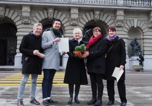 Bäuerinnen-Appell eingereicht